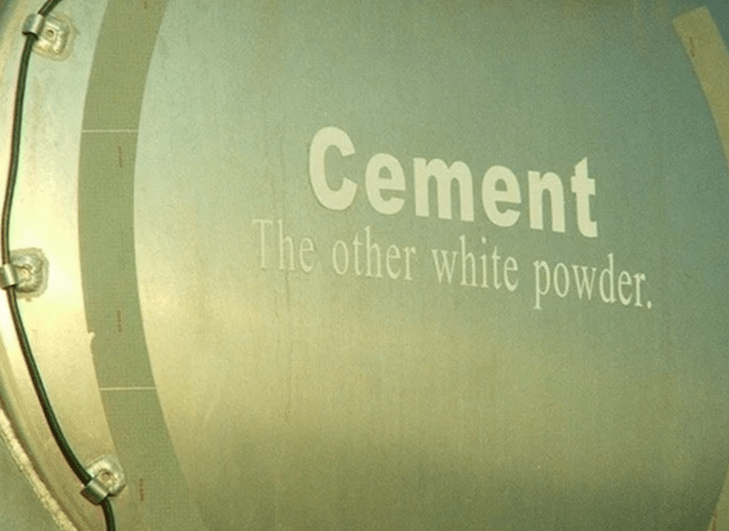 Drum - Cement The other white powder