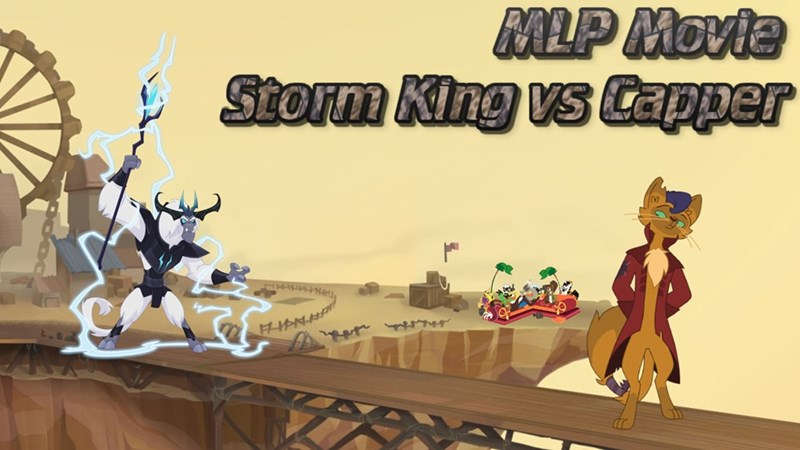 storm king discord my little pony the movie capper best pony - 9261501952