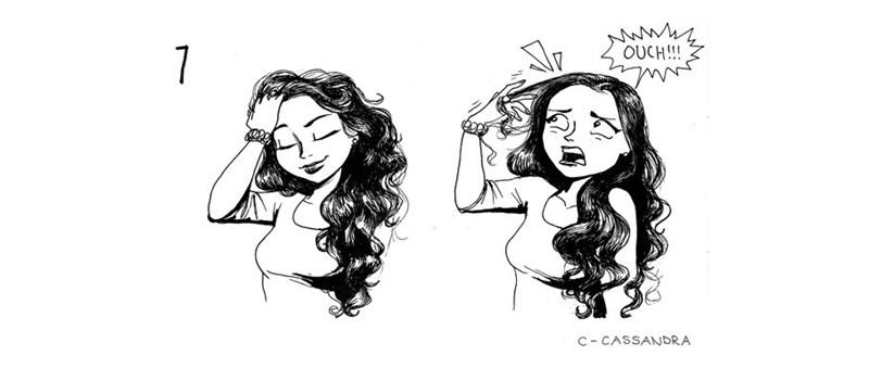Hair - OUCH!! 7 c CASSANDRA