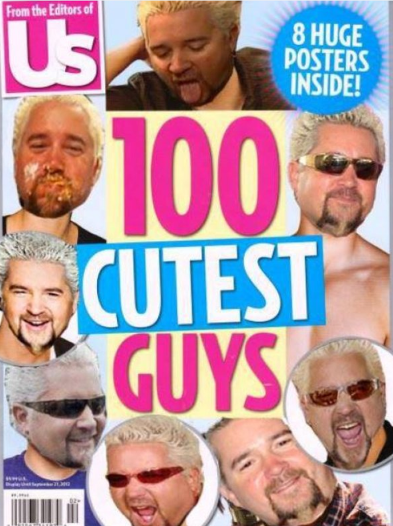 Magazine - From the Editors of Us 8 HUGE POSTERS INSIDE! 100% CUTEST GUYS tht Se 21 .