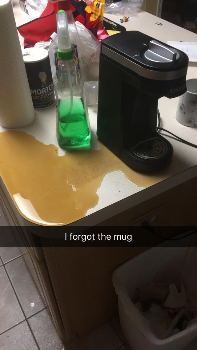 Product - MORTON ODIZED S I forgot the mug