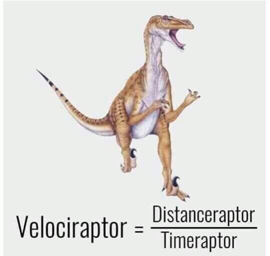 Dinosaur - Velociraptor =istanceraptor Timeraptor