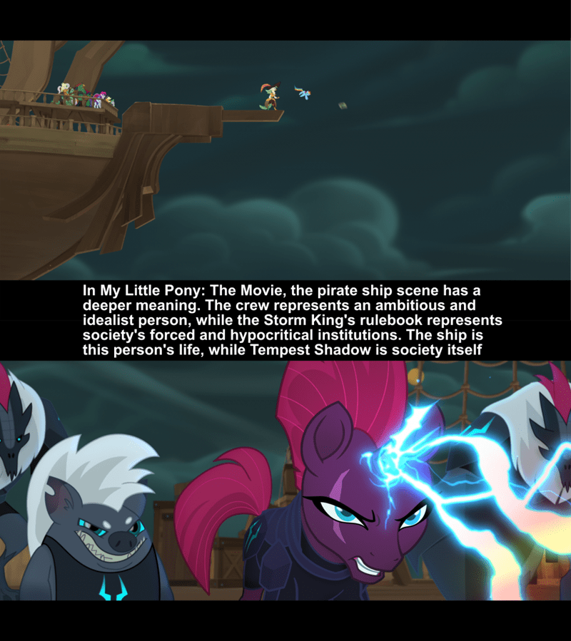 tempest shadow screencap captain celaeno rainbow dash grubber - 9262513152