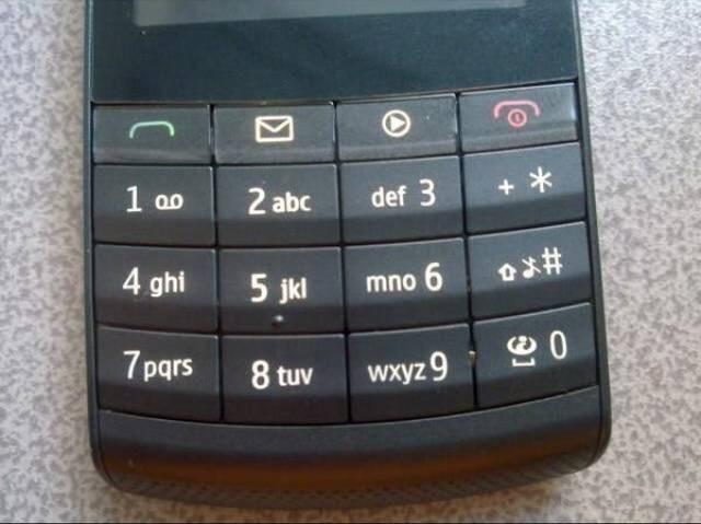Gadget - I + * 1 ao 2 abc def 3 x# 4 ghi 5 jk mno 6 7pars wxyz 9 8 tuv