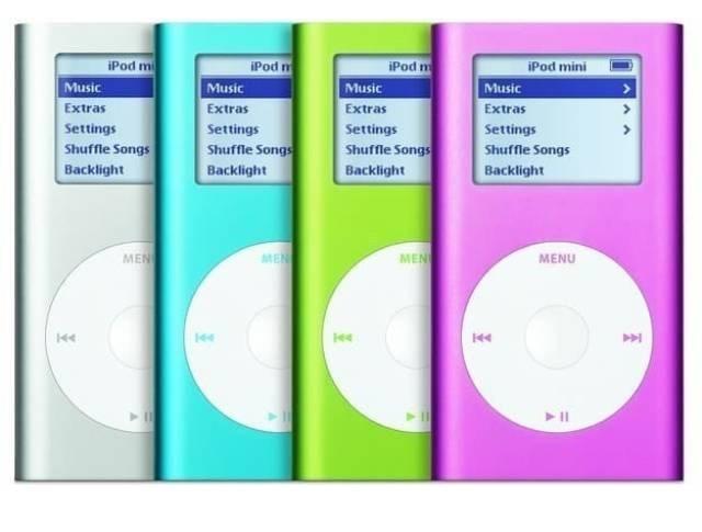 Ipod - iPod m iPod m Music Extras iPod mini Music iPod m Music Music Extras Settings Shuffle Songs Extras Extras Settings Settings Settings Shuffle Songs Shuffle Songs Shuffle Songs Backlight Backlight Backlight Backlight MEN MEN MENI MENU Hee