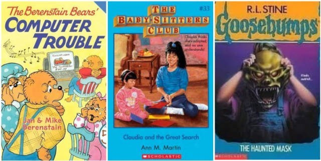 Comics - The Berenstain Bears COMPUTER TROUBLE R.L.STINE THE BABY SITTERS CLUB #33 Goosebumps Jan & Mike Berenstain MI Cloudia and the Great Search Ann M. Martin THE HAUNTED MASK MSCHOLASTIC