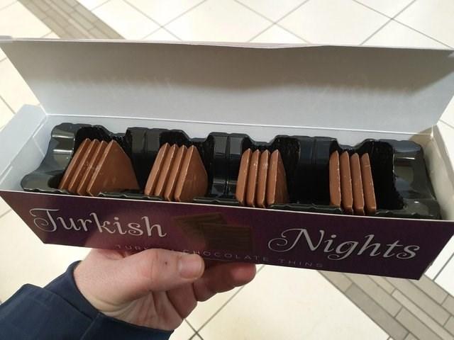 Chocolate - Nights Jurkish HOCOLATE THINS