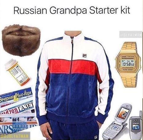Clothing - Russian Grandpa Starter kit @BLVAIMAR su 30 05850 Закенил Рыюок! OnTA3ET NRS eJELYATMAN НОВОЕ РУССКОВ