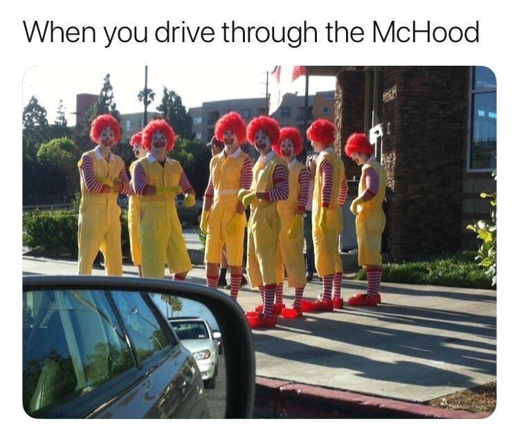 Team - When you drive through the McHood