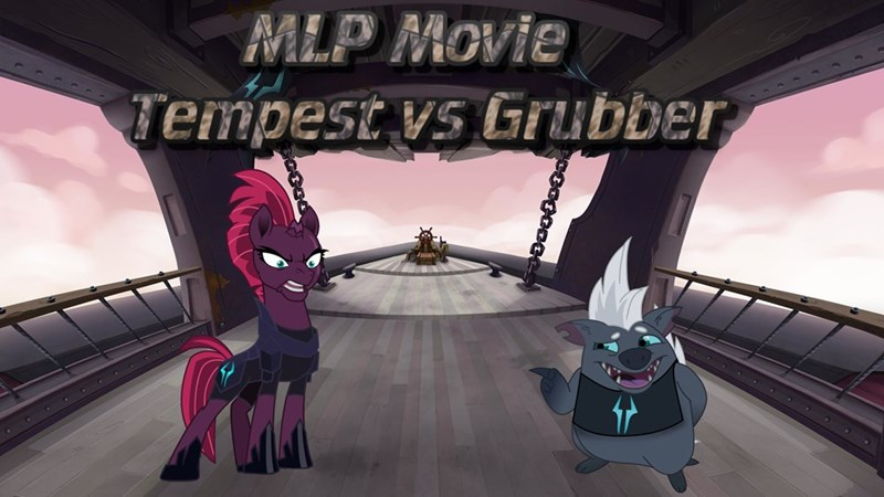 tempest shadow my little pony the movie best pony grubber - 9262929664