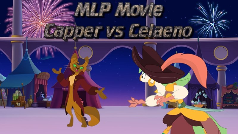 my little pony the movie capper best pony captain celaeno - 9263312128