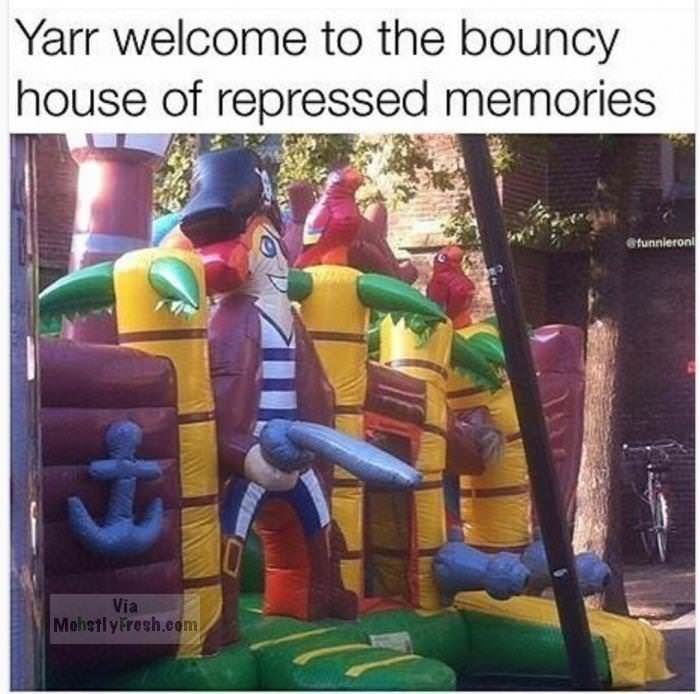 Games - Yarr welcome to the bouncy house of repressed memories tunnieron Via MehetlyFresh.com