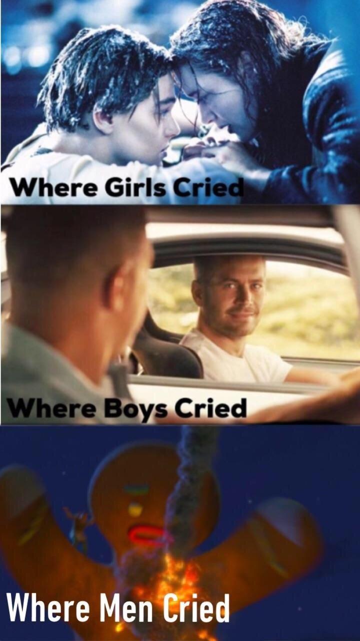 Photo caption - Where Girls Cried Where Boys Cried Where Men Cried