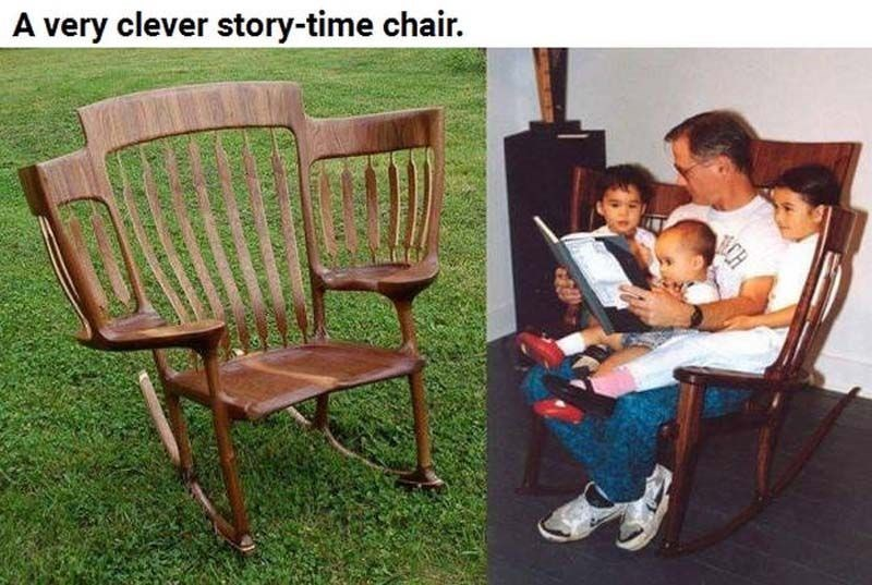 meme - Chair - A very clever story-time chair. CH