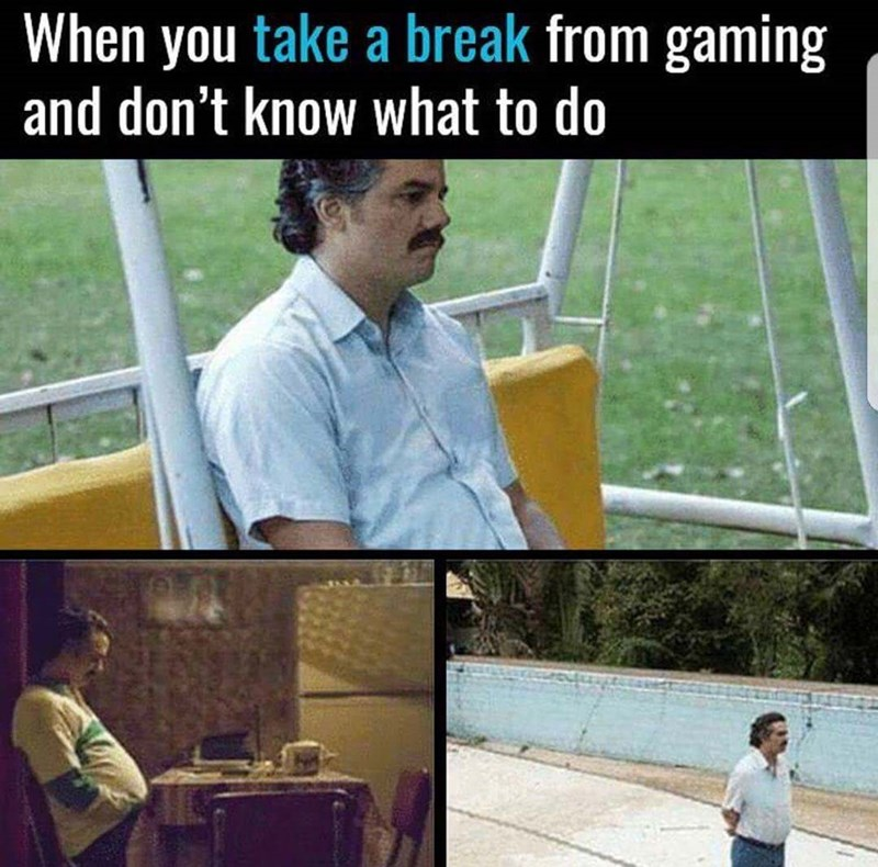 Technology - When you take a break from gaming and don't know what to do