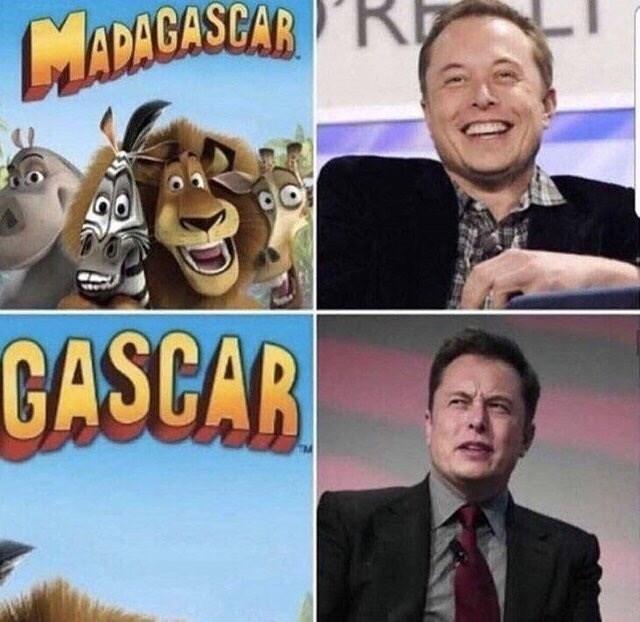 Animated cartoon - R MADAGASCAR GASGAR