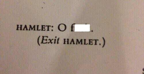Text - HAMLET: C f (Exit HAMLET.)