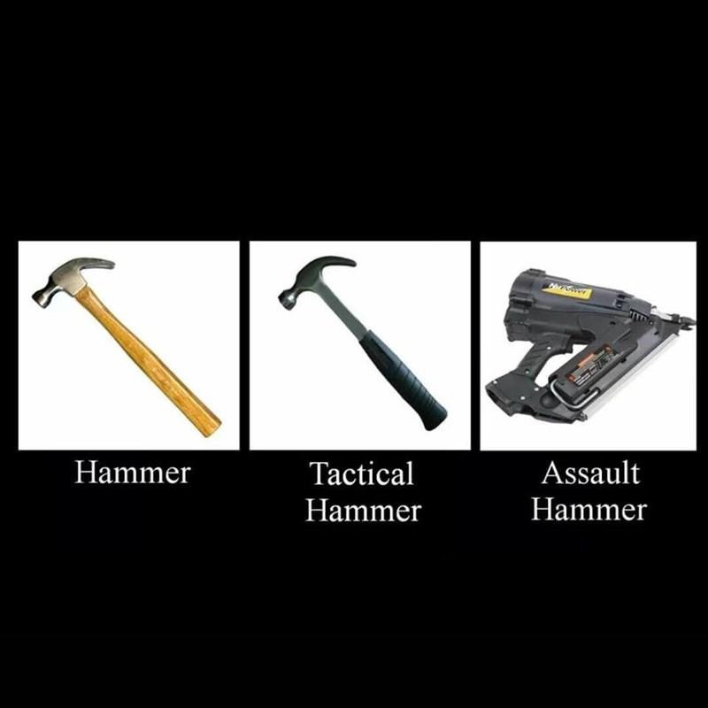 Metalworking hand tool - Hammer Assault Tactical Hammer Hammer