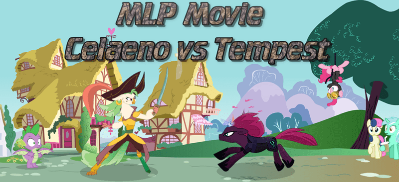 spike tempest shadow my little pony the movie lyra heartstrings pinkie pie best pony captain celaeno bon bon - 9263918848