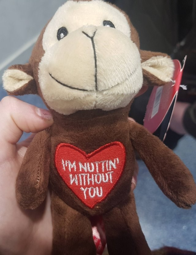 Stuffed toy - M NUTTIN WITHOUT YOU