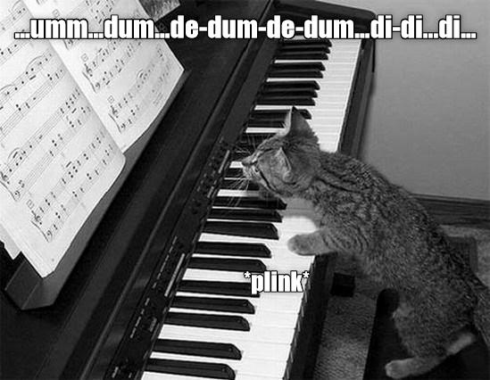 Musical instrument - ummdum.de-dum-de-dum..di-di..di. plink
