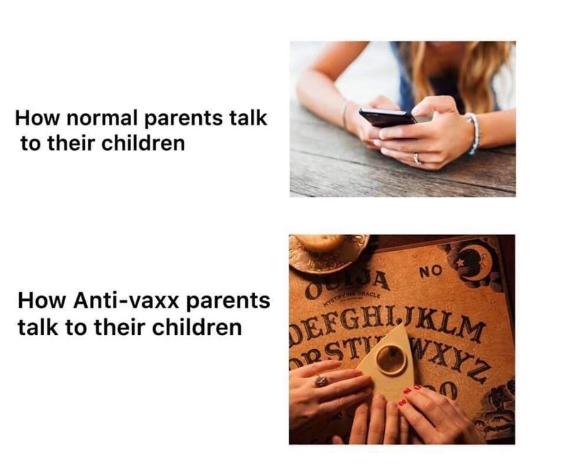 Funny anti-vaxx meme