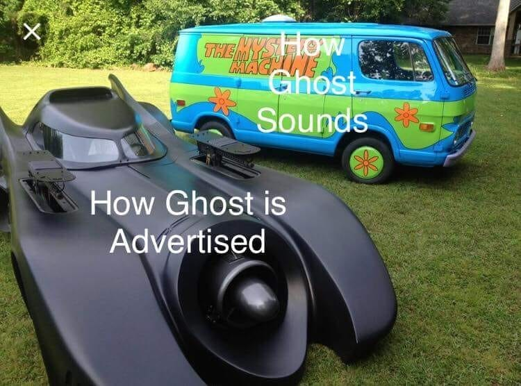 Motor vehicle - THE MYSA HOW AVAGHINE Ghost Sounds How Ghost is Advertised