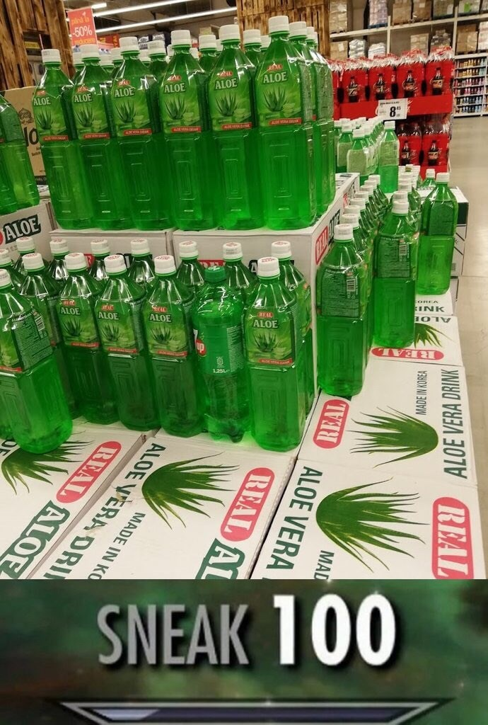 Green - ALOE INK REAL SNEAK 100 OO L ALDE VERA DRINK MAD MADE IN KOREA R ALOE VERA REAL AL MADE IN KO ALOE VERA DRI BEAL ALOE