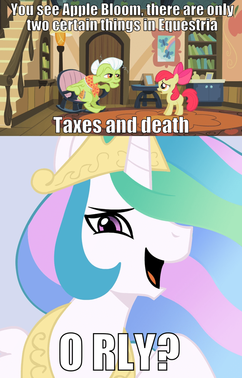 apple bloom screencap family appreciation day granny smith comic princess celestia - 9265963520
