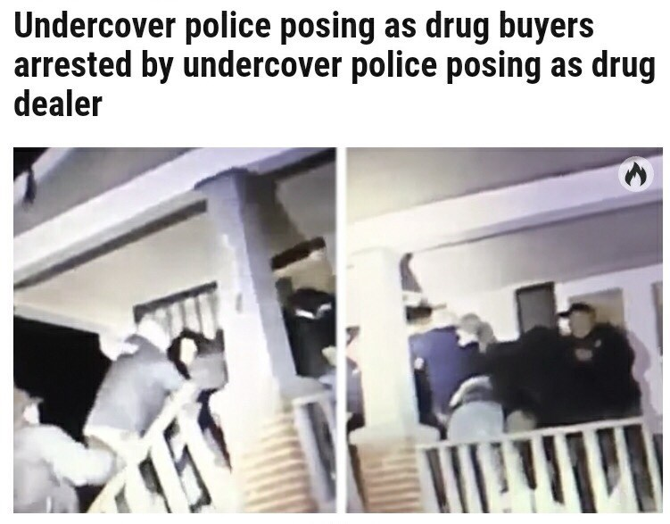 Product - Undercover police posing as drug buyers arrested by undercover police posing as drug dealer