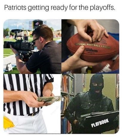 Hand - Patriots getting ready for the playoffs. ONAL FOOTBALL LEAGU Wilson PLAYBOOK