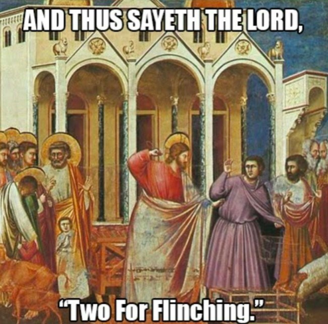 "Holy places - AND THUSSAYETH THE LORD, ""Two For Flinching"