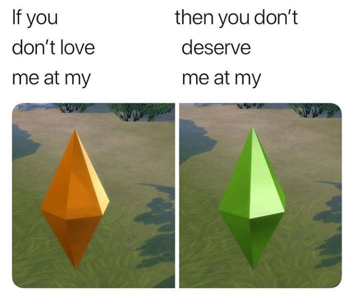 Origami - then you don't If you deserve don't love me at my me at my
