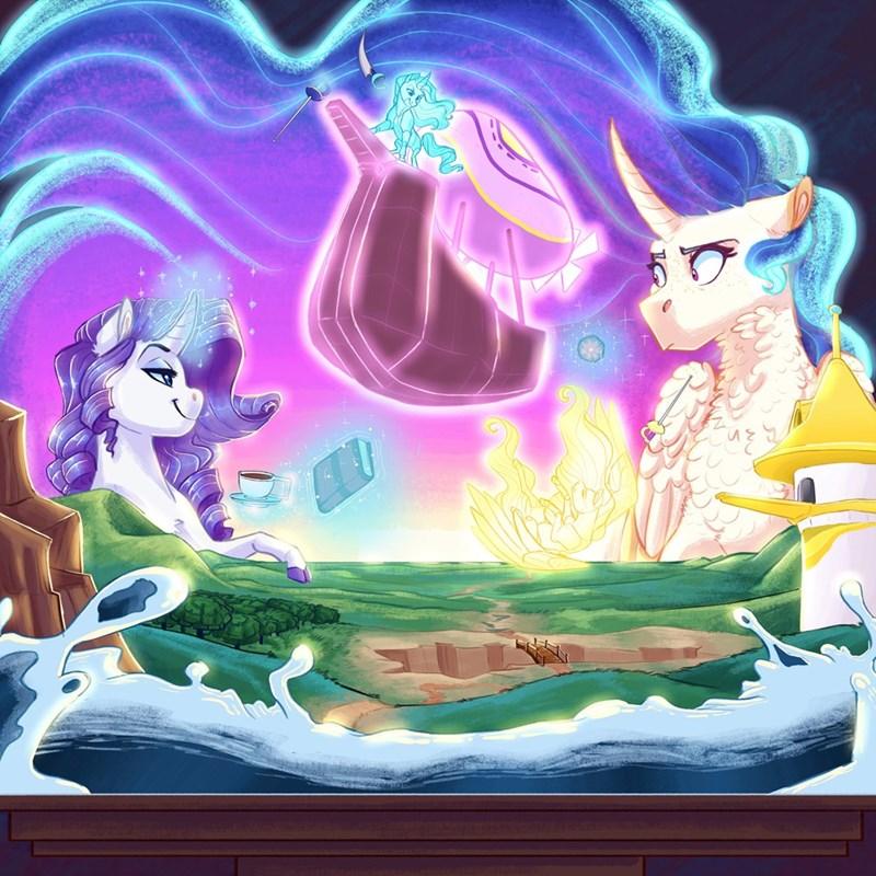 earthsong9405 rarity princess celestia - 9267238144