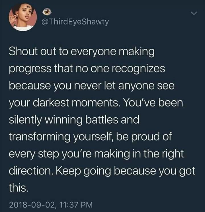 wholesome meme about being proud of your progress