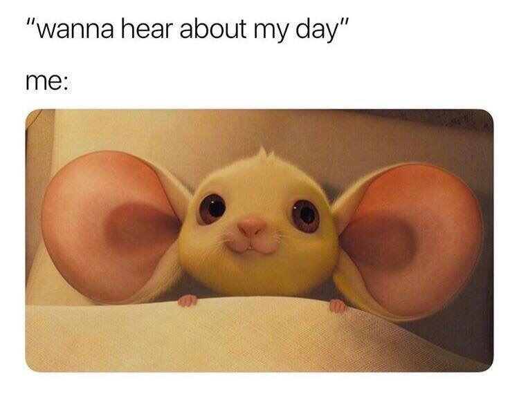 wholesome meme about listening to people