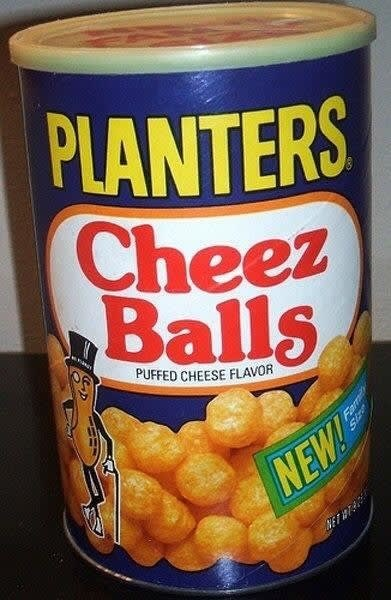 Food - PLANTERS Cheez Balls PUFFED CHEESE FLAVOR NEW AET Fam