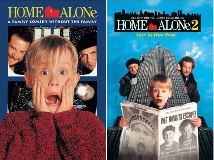 Facial expression - HOME ALONE A FAMILY COMEDY WITHOUT THE FAMILY FROM 1OHN HUGHES HOME ALONE 2 A CHRIS COLUMBUS FI LoST IN NEW YORK TheNewk p WET BANDITS ESCAPE MARV 360 ASUUND NYC HARRY SEEN LI