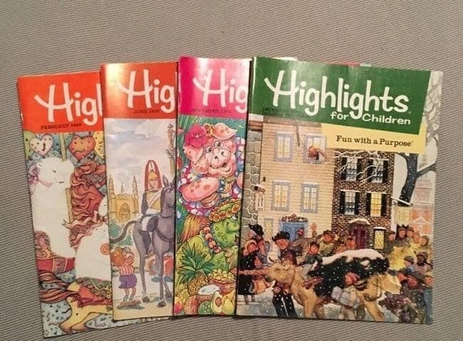 Text - Higl Hig Hig Highlights Children for Mvcoidcen Fun with a Purpose