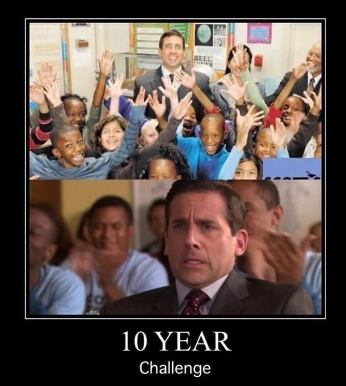 People - 10 YEAR Challenge