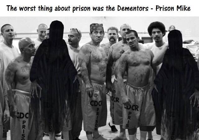 Team - The worst thing about prison was the Dementors Prison Mike OCR CDC CDCR DC PR PRIS