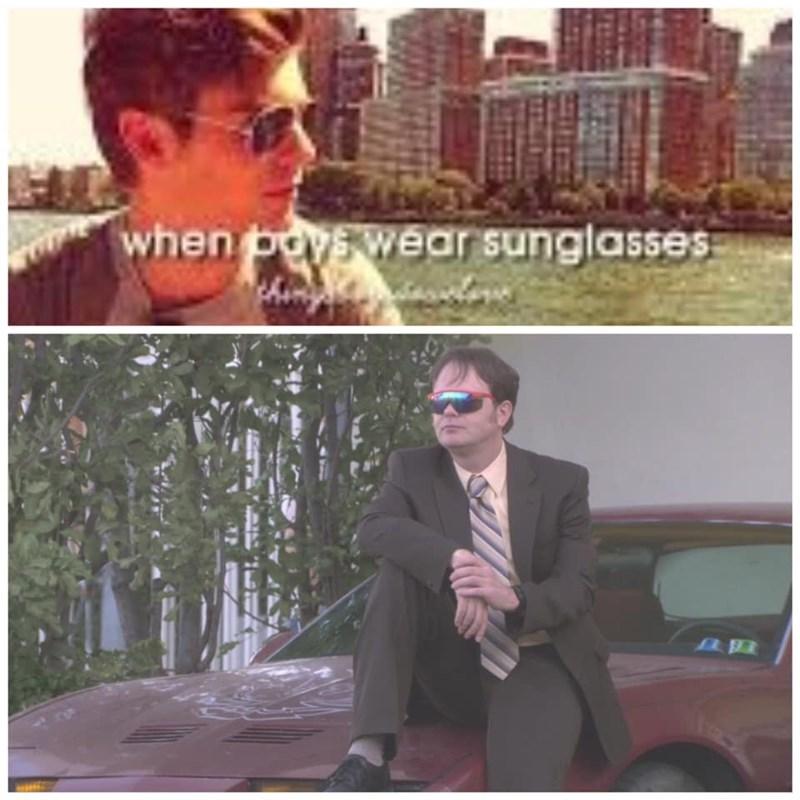 Eyewear - when poy wear sunglasses