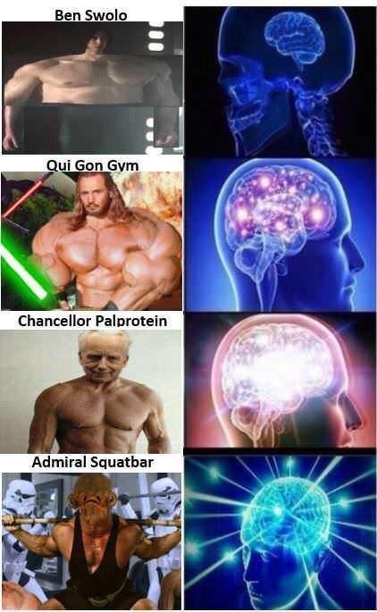 Male - Ben Swolo Qui Gon Gym Chancellor Palprotein Admiral Squatbar