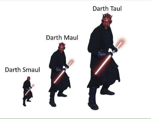 Font - Darth Taul Darth Maul Darth Smaul