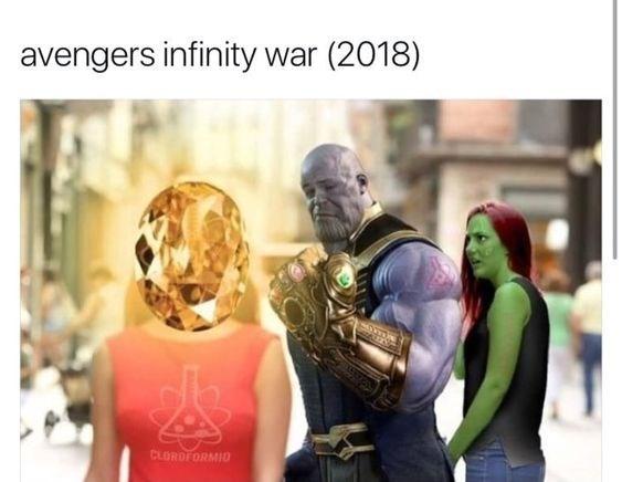 Human - avengers infinity war (2018) CLORDFORMIO