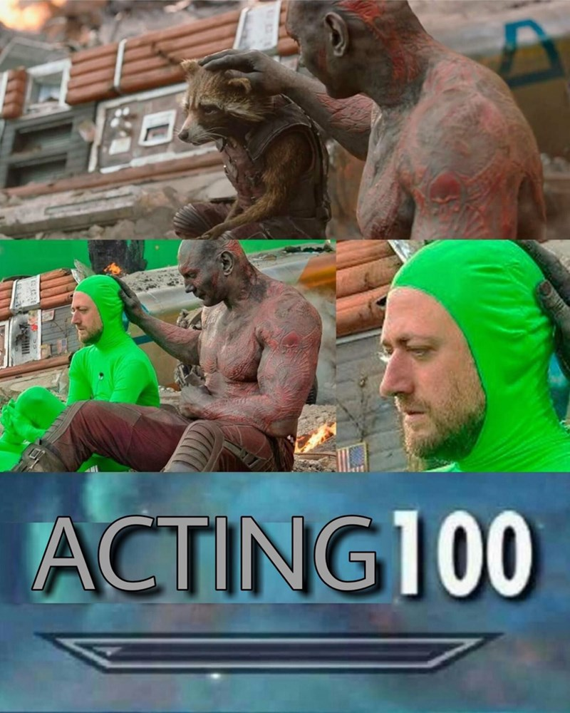 Photo caption - ACTING100