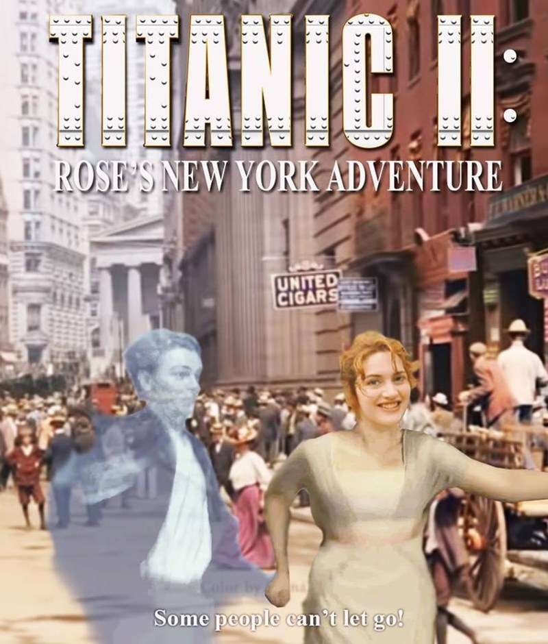 Funny meme about Titanic 2.