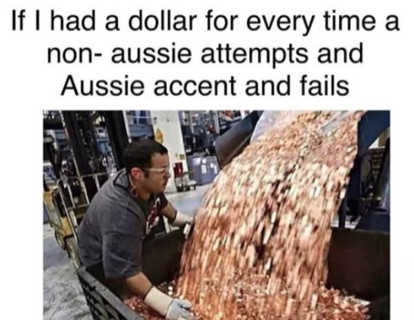 Adaptation - If I had a dollar for every time a non- aussie attempts and Aussie accent and fails