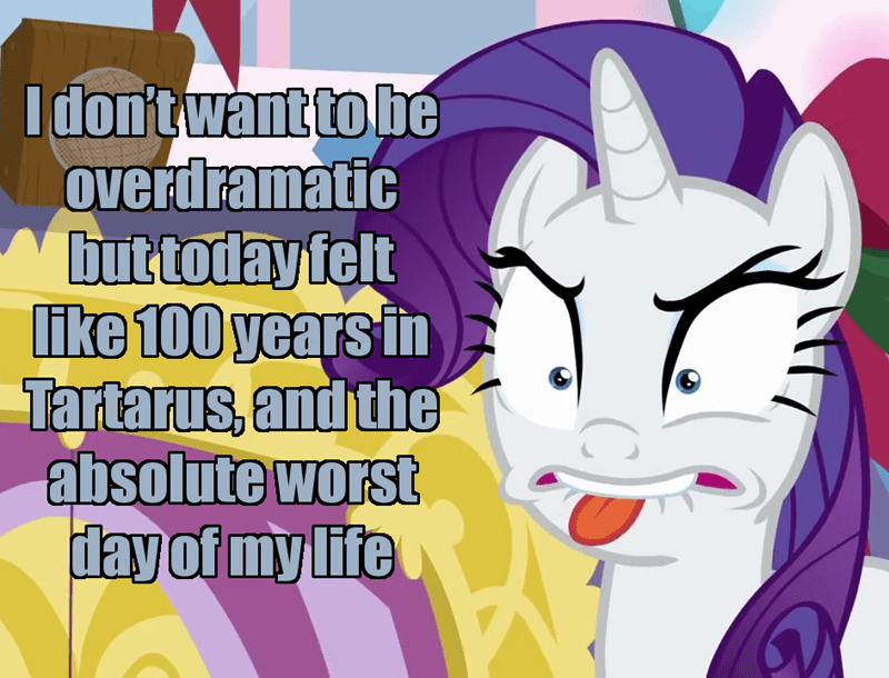 incorrect my little pony quotes screencap mystery voice rarity best gift ever - 9268713984