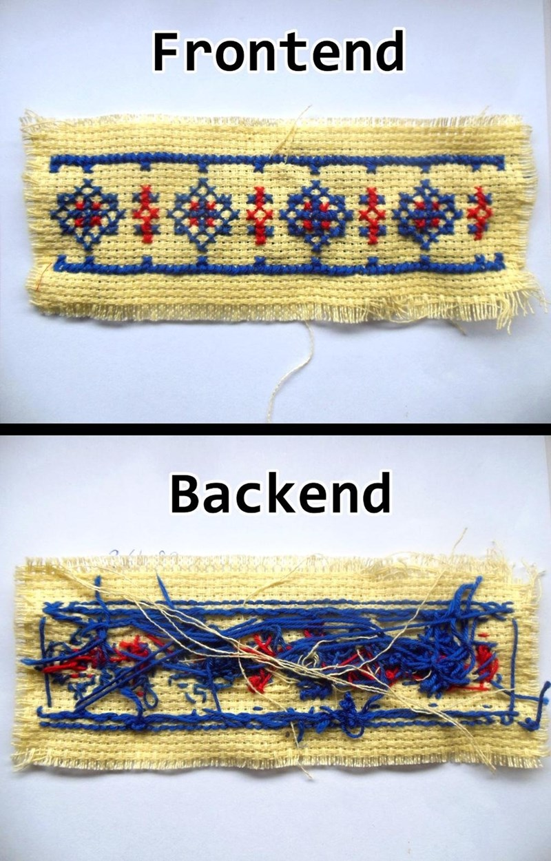 Textile - Frontend Backend rammn